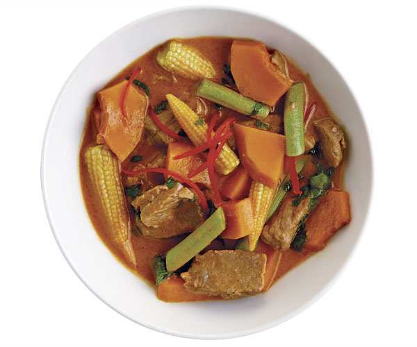 Thai Red Curry with Beef and Kabocha Squash ...